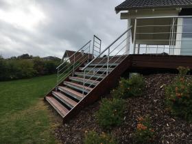 gelænder til terrasse